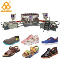 Men Sandals Direct Injection Pvc Mould Making Machine For Canvas Shoes Soles Manufactures
