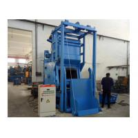 China Carbon Steel Steel Shot Blasting Machine With Automatic Loading / Unloading System on sale
