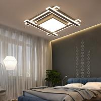 Buy cheap Modern Acrylic led ceiling lights For living room Dining room Study Room Bedroom lampara techo led Square Ceiling lamp from wholesalers
