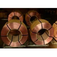 Copper Coated Mild Spring Steel Wire For Seating and Beding Dia. 1.80MM - 4.50MM Manufactures