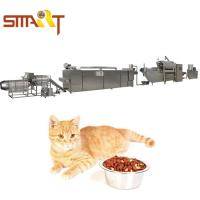 Automatic Dry Dog Food Making Machine 1000kg/8hr Pet Food Production Line Manufactures