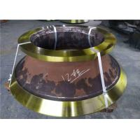 Casting Parts Cone Crusher Mantle And Concave With Manganese Steel Material Manufactures