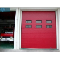 40mm 5000mm Length Commercial Garage Doors For Fire Station Manufactures