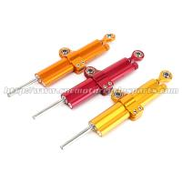 Motorcycle Spare Parts Aluminum 6061 Street Bike Steering Damper Red Orange Gold Manufactures