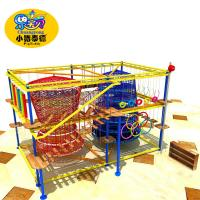 High quality climbing wall kids adventure high rope course playground indoor Manufactures