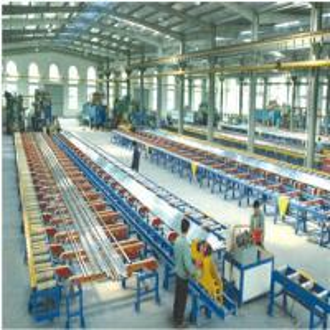 Customized Industrial Aluminum Profile , Standard Aluminum Extrusion Profiles OEM ODM Manufactures
