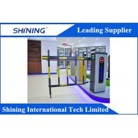 Remote Control  Traffic Barrier Gate With Led Light For Car Parking System Manufactures