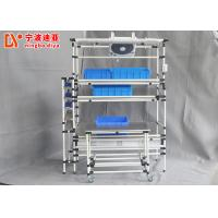Colorful Ergonomic Assembly Workstation Stainless Steel Panel For Manual Workbench Manufactures