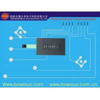 Male Connector One Push Button Membrane Switch / Membrane Keyboards Manufactures