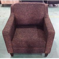 Hotel fabric lounge chair,single sofa LC-0005 Manufactures