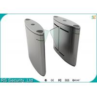 Automatic Turnstile Security Systems , Retractable Flap Turnstile Door Manufactures