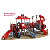 LLDPE Material Outdoor Play Equipment New Mordern Design Light Weight for sale