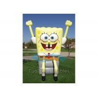 Outdoor Inflatable Spongebob Characters Squarepants For Amusement Manufactures