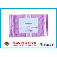 Disposable Organic Smooth Feminine privateparts Hygiene Wipes With Fresh Scent Manufactures
