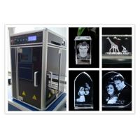 Diode Pumped 3D Laser Glass Engraving Machine , Computerized 3D Laser Carving Machine Manufactures