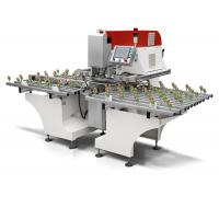 Single Axis Automated Glass Drilling Machine for Kitchen / Lighting Glass Manufactures