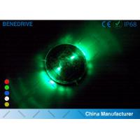 1 LED Each Side 2 Directions Solar Road Markers Well Fit Road Surface Energy Efficiency Manufactures