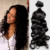 Most popular hair style, body wave hair extension with wholesale price Manufactures