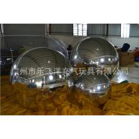 Sliver Inflatable Marketing Products /  inflatable Mirror Ball Manufactures
