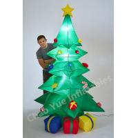 2015 Hot LED Inflatable Christmas Tree Decorations for Christmas Holiday Manufactures