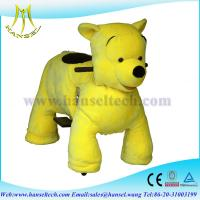 Hansel 2015 High popularity big battery operated ride animals,stuffed animal riding Manufactures