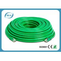 Stranded BC CCA Cat6 Ethernet Patch Cable 26AWG 24AWG With 8P8C RJ45 Connector Manufactures