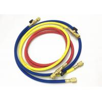 Buy cheap Air Conditioning Service Freon Refrigerant Hoses With Ball Valves For R410A from wholesalers
