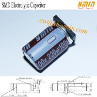 Buy cheap 105°C 6000 - 8000 Hours 220uF 100V SMD Capacitor SMD Aluminum Electrolytic from wholesalers