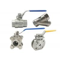 Cf8 4 Inch Stainless Steel Ball Valve 316 Ss Ball Valve Fire Resistance Manufactures