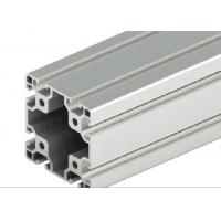 Decorations T - Slot Aluminum Extrusion , Silver Anodized T Slot Extruded Aluminum Manufactures