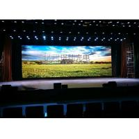 Full Color P3.91 Indoor Rental LED Module Display With Die Casting Al Cabinet Manufactures