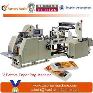 CY400 Sharp Bottom Food Bread Grocery Paper Bag Making Machine
