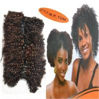 China African Short Curly Synthetic Hair GOLD TONI Style Hair wave on sale