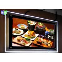 Ceiling Hanging LED Photo Display Light Box Poster Import Acrylic Panel Double Side Manufactures