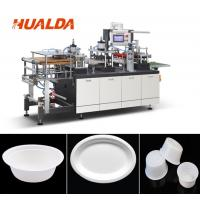 China Recycle Paper Plate Making Machine 1880 * 1450 * 1900 Mm Dimension on sale