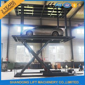 China Auto Car Parking System , Underground Parking Garage Lift Storage System on sale