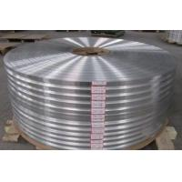 5 Micron Aluminum Foil Alloy , Coated Surface Capacitors Thin Aluminum Foil Strips Manufactures