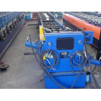 Round / Rectangular Downspout Roll Forming Machine With 20 Roller Stations Germany Rex Valve Manufactures