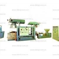 Auto Packaging PVC Film Blowing Machine With Printing Wine Cap SJ45×26-SM700 Manufactures
