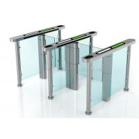 Residential Security Speed Gates , Waist High Turnstile Entry Systems DC 24V Manufactures