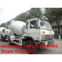 Dongfeng 4*2 LHD Euro 3 Yuichai engine 6cbm cement mixer truck for sale, factory sale 4*2 mixer drum mounted on truck Manufactures