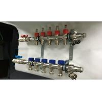 Stainless Steel Bamboo Joint House Water Manifold With Long Flowmeter-s.s304 Manufactures