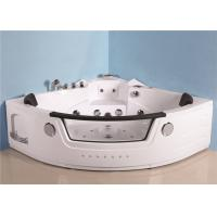 Full Body Therapy Whirlpool Spa Tub , Extra Large Freestanding Jacuzzi Tub Manufactures