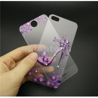 Wholesale Full Body Tempered Glass Screen Protector Flim for iPhone 5 iPhone 6 iPhone 6 plus 3D Flowers Printed Manufactures