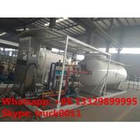 Quality China bottom price mobile skid lpg gas station with lpg gas dispenser for sale, HOT SALE! 5tons skid lpg filling plant for sale