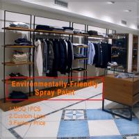 Custom Made Wooden Clothing Store Showcase Manufactures