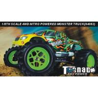 1:8th Scale Nitro Powered Monster Truck Manufactures