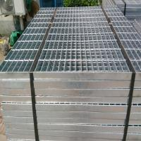 High strength hot galvanized flat bar steel grating Manufactures