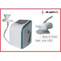 Salon And Spa Cryolipolysis Slimming Machine With 40khz Cavitation Handle Manufactures