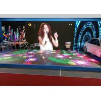 Waterproof Led Stage Screen Rental P6.25 Interactive LED Dancing Floor Display Heat Dissipation Manufactures